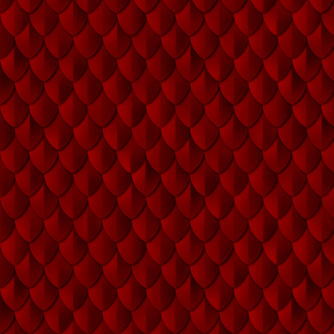 Plain Scale Armor Blood Red fabric by wickedrefined on Spoonflower - custom fabric