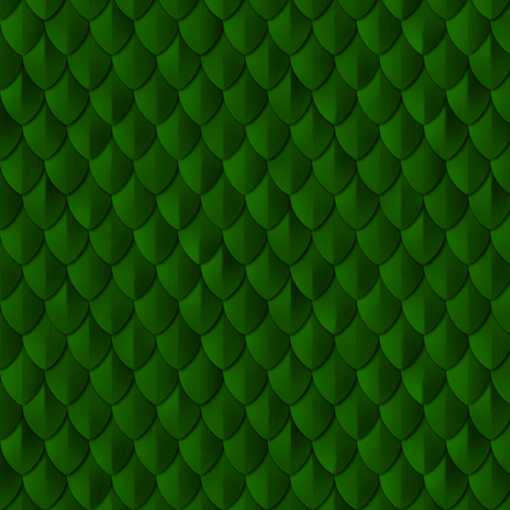 Plain Scale Armor Emerald Green fabric by wickedrefined on Spoonflower - custom fabric