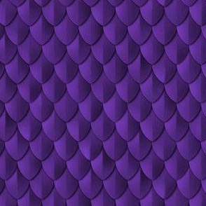 Plain Scale Armor Royal Purple