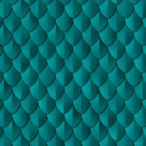 Plain Scale Armor Teal