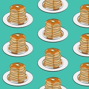 pancakes - green