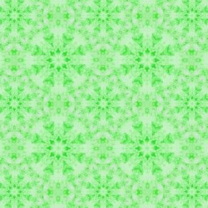 Sponged Geometric Green Tonal Blender