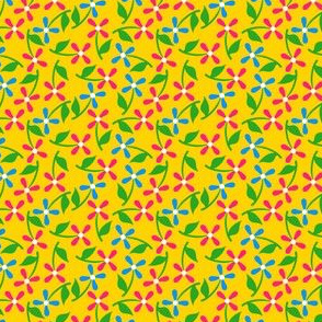 Floral Grid Coordinate 4