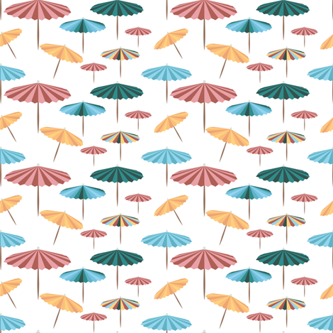 Under my parasol fabric by arrpdesign on Spoonflower - custom fabric