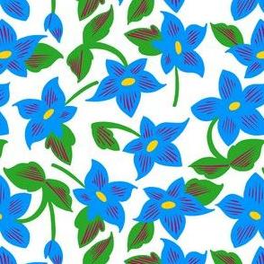 Floral Grid Coordinate 3