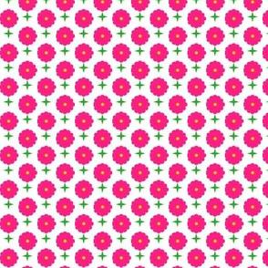 Floral Grid Coordinate 2