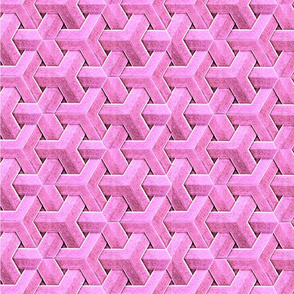 Weave in pink