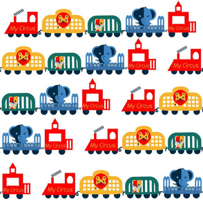 Retro Circus Train; special pallette