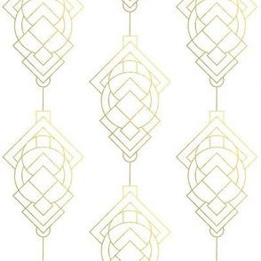 Vintage Inspired Geometric Pattern