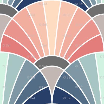06533832 : fan scale : trendy1 mix