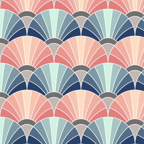 06533832 : fan scale : trendy1 mix fabric by sef on Spoonflower - custom fabric