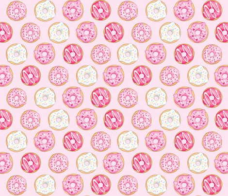 Iced_donuts_pink_on_light_pink_150_hazel_fisher_creations_shop_preview