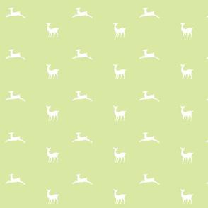 Deer 2 - MED58  meadow white