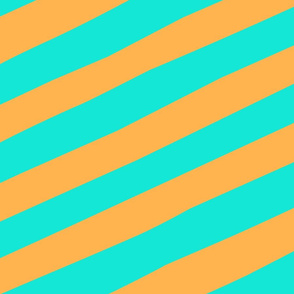 Giant_Straw_Stripe_aqua_orange