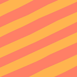 Giant_Straw_Stripe_orange_orange