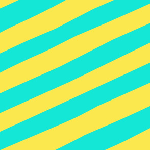 Giant_Straw_Stripe_yellow_aqua