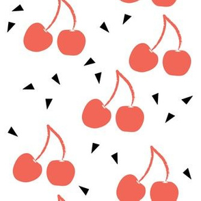 Cherries with triangles