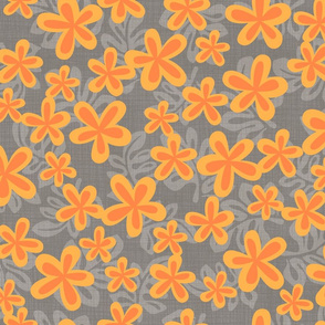 Harrys_Gray_orange_flowers