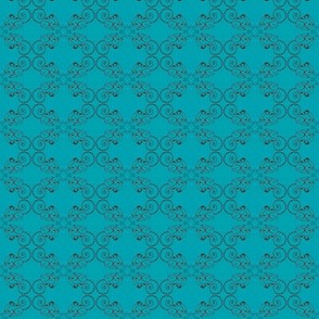 Spiral_tail-hound_ Turquoise_