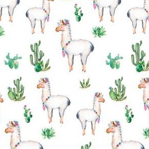 "4"" Aztec Llama"