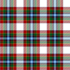 "Gillespie dress tartan, 6"" modern colors"