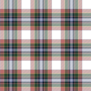 "Gillespie dress tartan - 6"" faded"