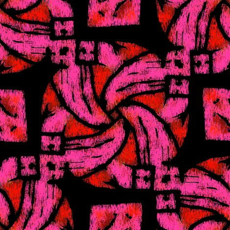 Rrrabstract_woven_knot_pink_and_red_and_black_shop_preview