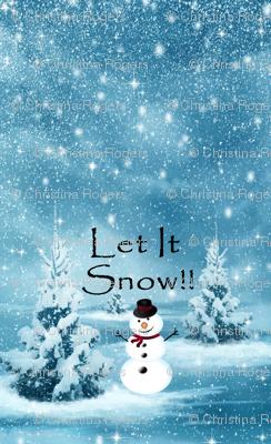 Snowman_bib