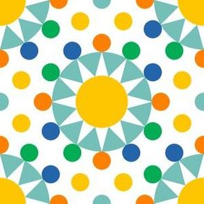 06536348 : circus ring polkadots