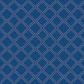 Boho Blu-Lattice