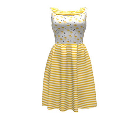 Mustard stripes