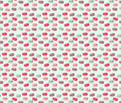 happy_macarons fabric by youdesignme on Spoonflower - custom fabric