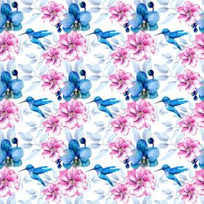 fleuri oiseau