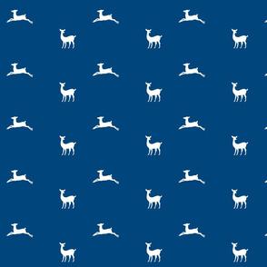 Deer 2 - MED58 ocean white