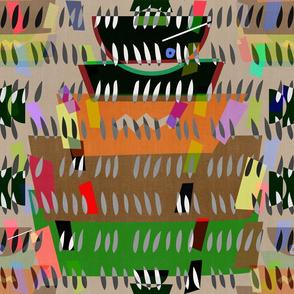 Matisse Cutouts . Udon Noodle Bowls Linen