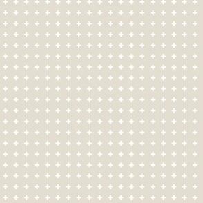 Swiss Crosses - Latte