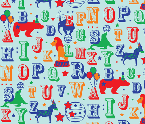 circus2 fabric by lerhyan on Spoonflower - custom fabric