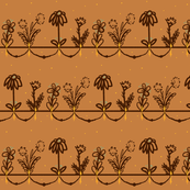 Fall Folk Flower