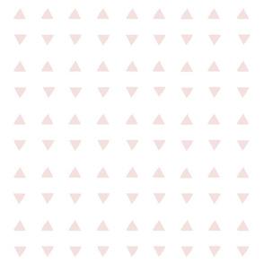 Tiny Triangles - White/Double Bubble