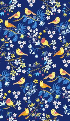 Boys Room Birds and Blossom