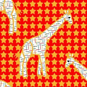 Circus Giraffes 3