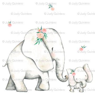 "7"" Pink Elephant"