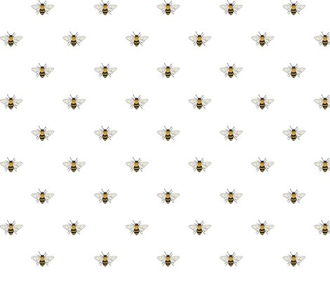 Bees_on_white_150_hazel_fisher_creations_shop_preview