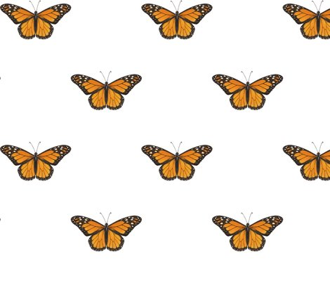 Monarch_butterfly_simple_repeat_on_white_150_hazel_fisher_creations_shop_preview