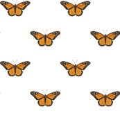 Monarch_butterfly_simple_repeat_on_white_150_hazel_fisher_creations_shop_thumb