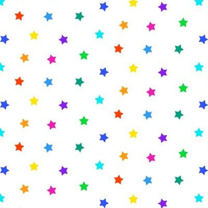 Multi-color Star Toss