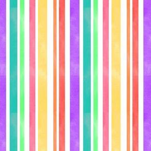 Watercolor Multi Stripes