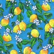 Oil Painted Lemons