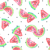 Watermelon Toss with Dots