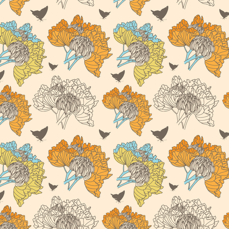 butterfly blend fabric by silverliningstudiosnm on Spoonflower - custom fabric